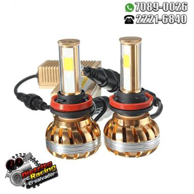 Luces Led GOLD-COB - Headlight H1 - H7 - 880 - 9005