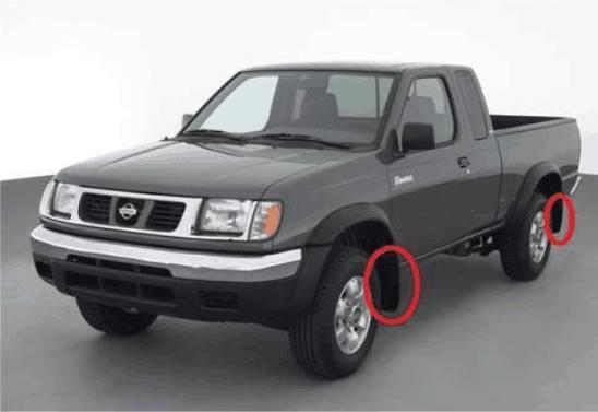 Loderas para Nissan Frontier | Distrito Racing El Salvador