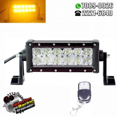 Barra Led 7″ Bi-color – Control Remoto
