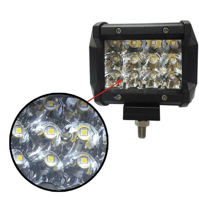 Barra LED 4 pulgadas 12 Leds 36Watt4