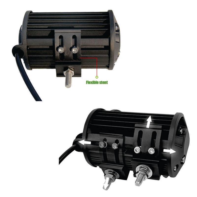 Barra 24 LEDs industrial de 5 pulgadas2