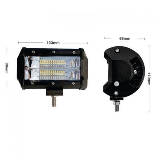 Barra 24 LEDs industrial de 5 pulgadas3