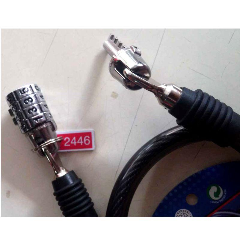 Candado para moto con clave de seguridad Metalica2