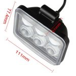 Lampara industrial con Lupa 6 LEDs2