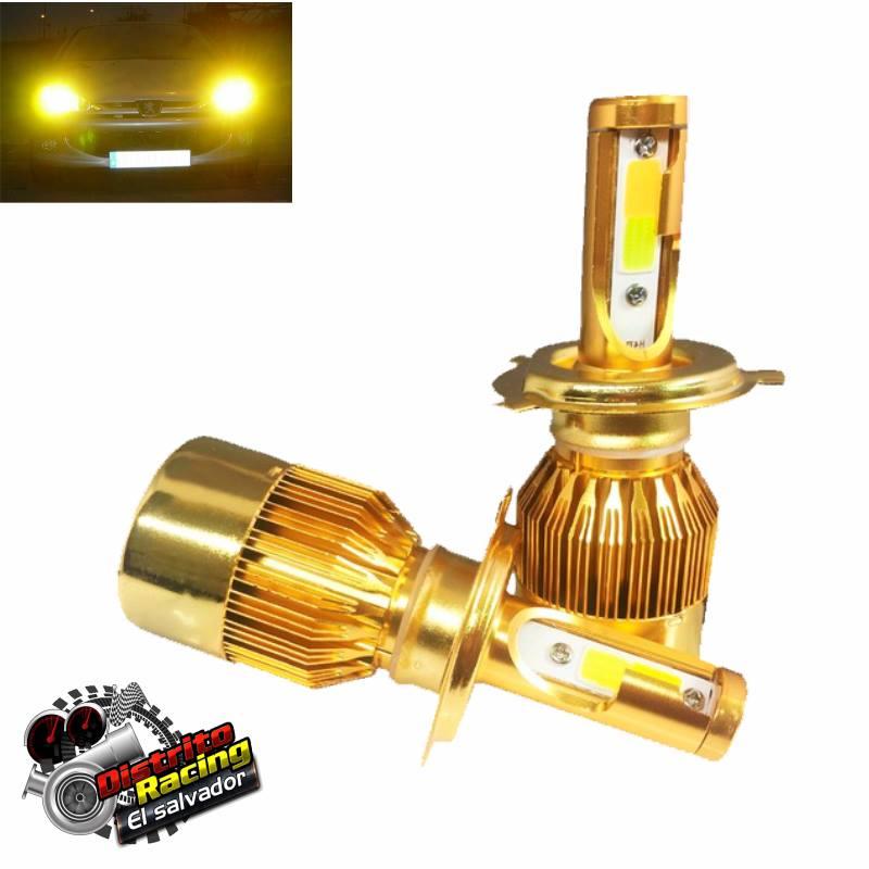 luces led para silvin faros proncipales headlight led dual color bi color