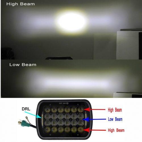 Silvin 7×5 fondo negro LED H4 con cortesia2