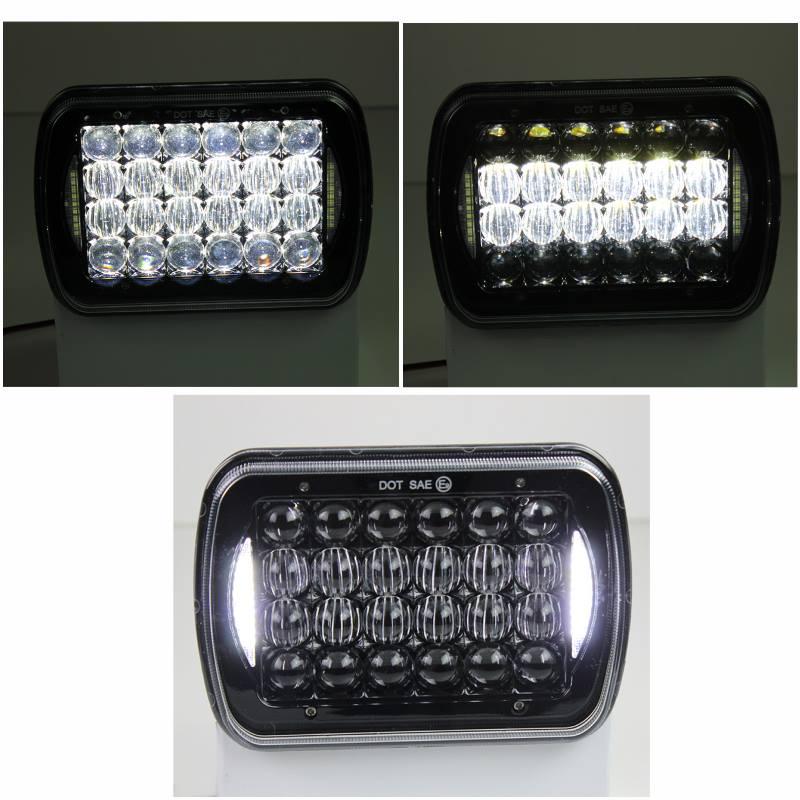 Silvin 7x5 fondo negro LED H4 con cortesia4
