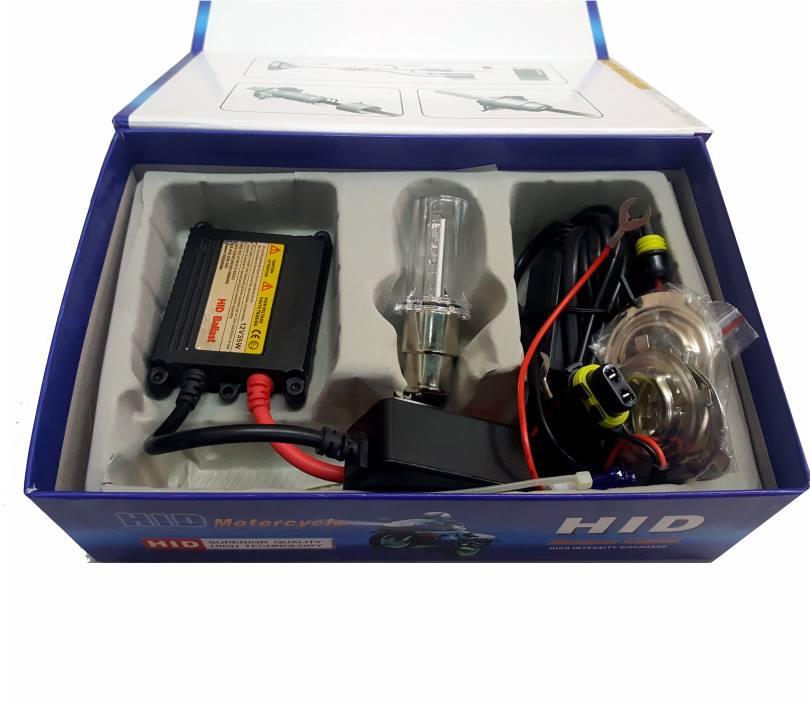 Luz Xenon H4 para Motocicleta1