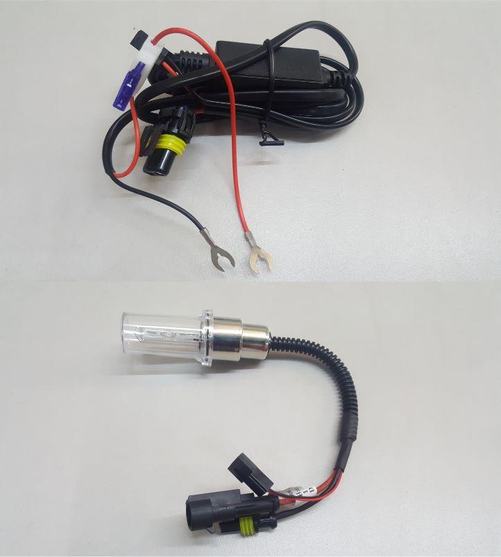 Luz Xenon H4 para Motocicleta2