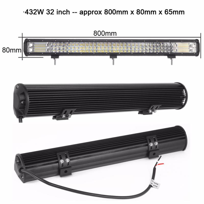 Barra LED 32 pulgadas industrial1