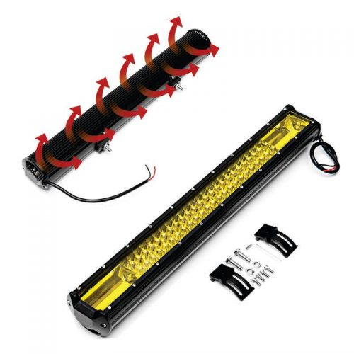 Barra LED 22 pulgadas Amarilla4