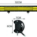 Barra LED 22 pulgadas Amarilla7