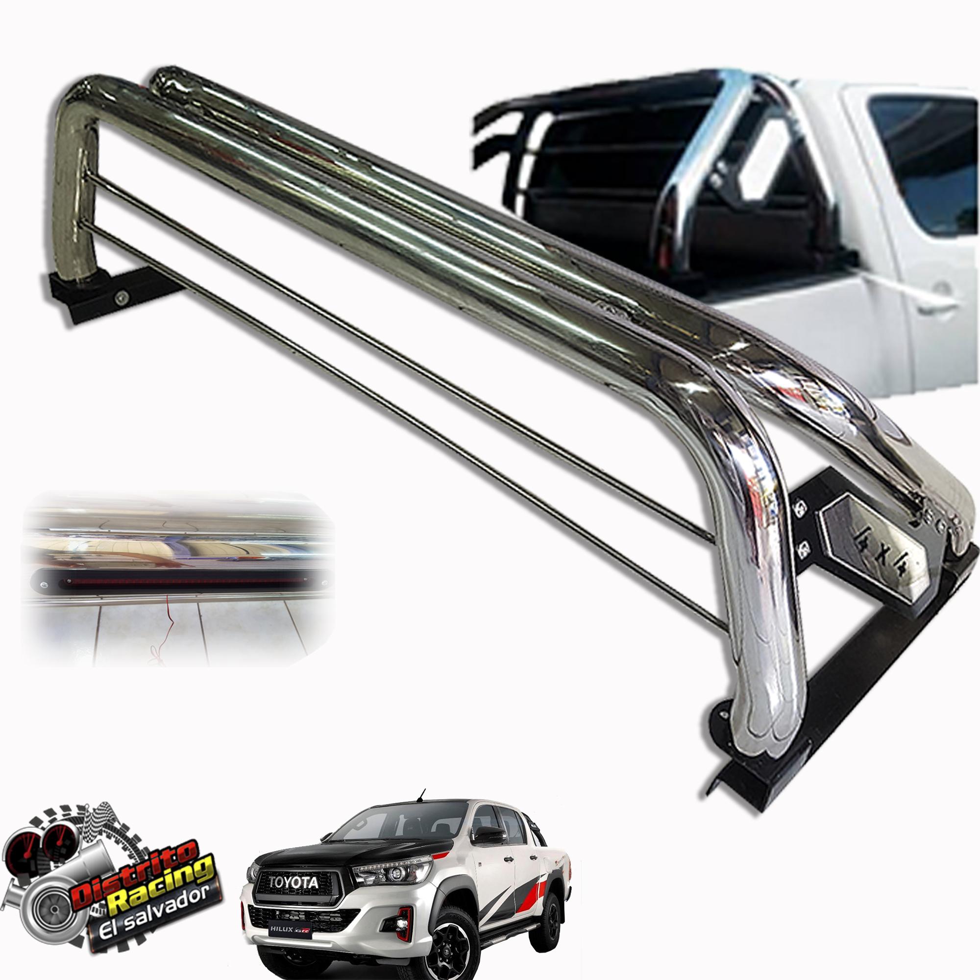 Sport Roll Bar - Barra Antivuelco con STOP - 4x4 - HILUX REVO 2016
