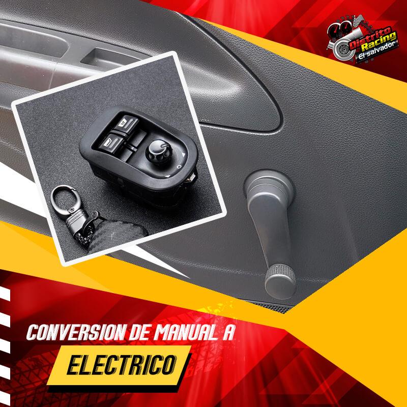 Manual a electrico