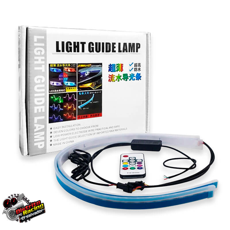 DRL Slim Multicontrol con Control - 60cm