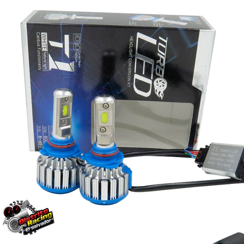 Luz Led - T1 - Turbo Led CREE 9007
