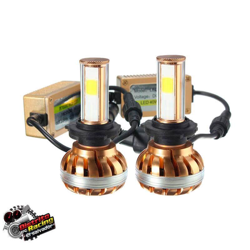Luces Led GOLD- COB Headlight H7