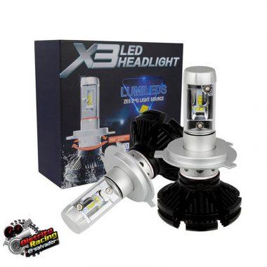X3 Luces Led - 6000LM - H4