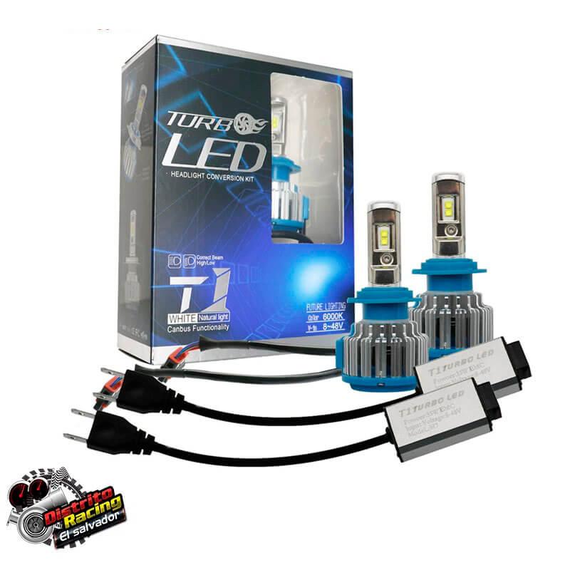 Luz Led - T1 - Turbo Led CREE H7